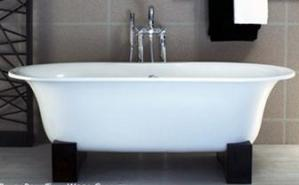 Free standing tub by Victoria Albert
