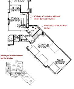 angled houseplan